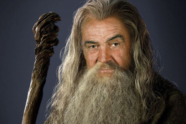 The Lord Of The Rings Sean Connery Gandalf