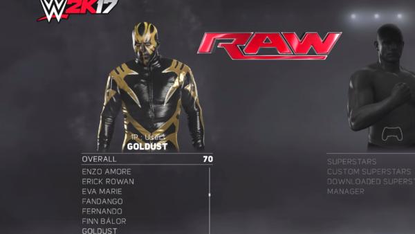Goldust WWE 2K17