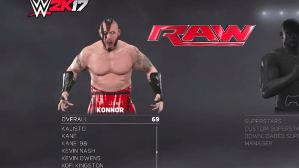 Konnor WWE 2K17