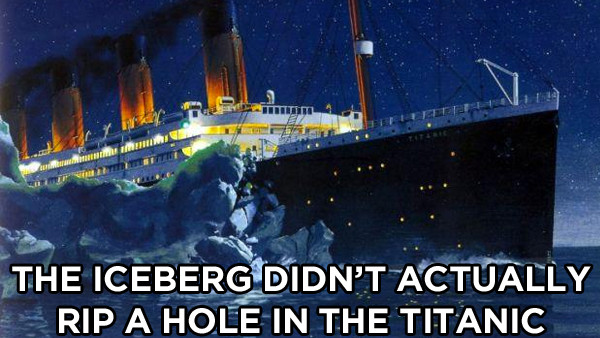 Titanic Iceberg Fact