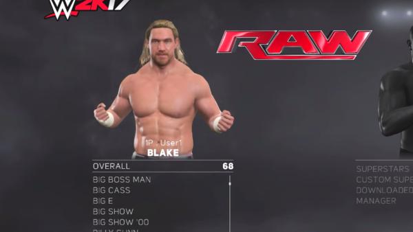 Blake WWE 2K17