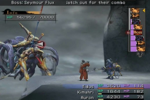 final fantasy X seymour flux