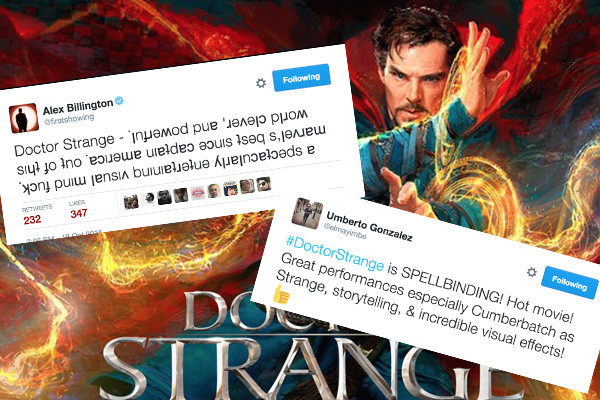 Doctor Strange and attractive