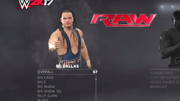 WWE 2K17 Bo Dallas