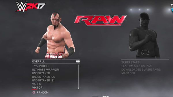 Viktor WWE 2k17