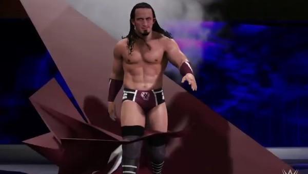 WWE 2K17 Neville