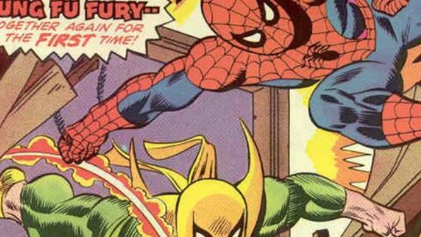 Spiderman Iron Fist