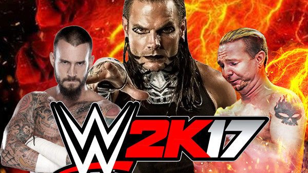 WWE 2k17 Downloaded CAWs