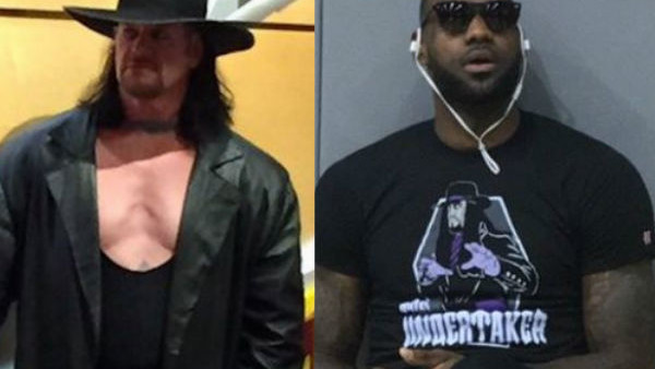 cfc70513178e Reason Why The Undertaker And LeBron James Didn't Meet