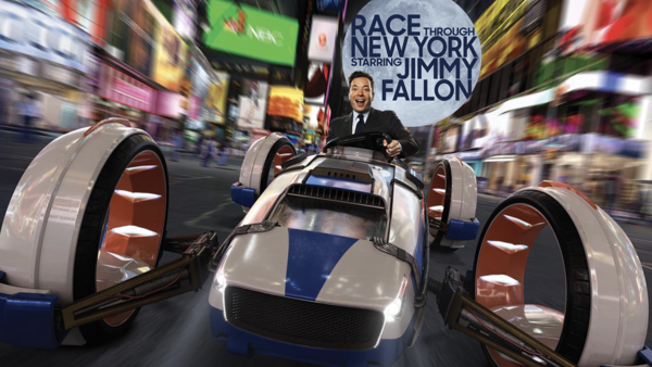 Race Through New York Jimmy Fallon Universal Orlando