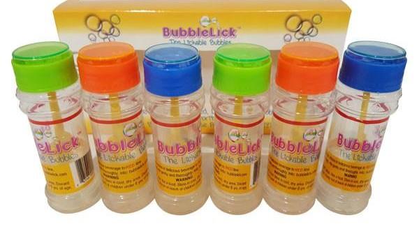 BubbleLick Edible Bubbles