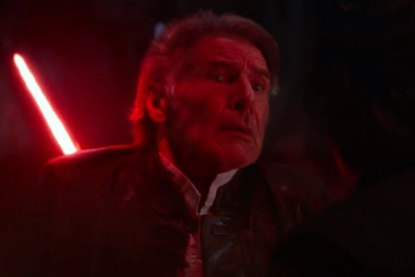 Star Wars The Force Awakens Han Solo death