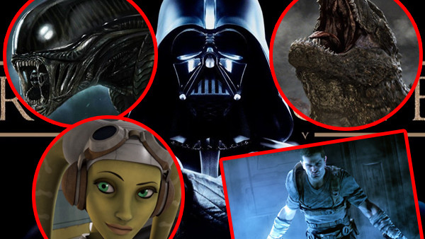 Star Wars Rogue One The Force Unleashed Rebels Godzilla Aliens