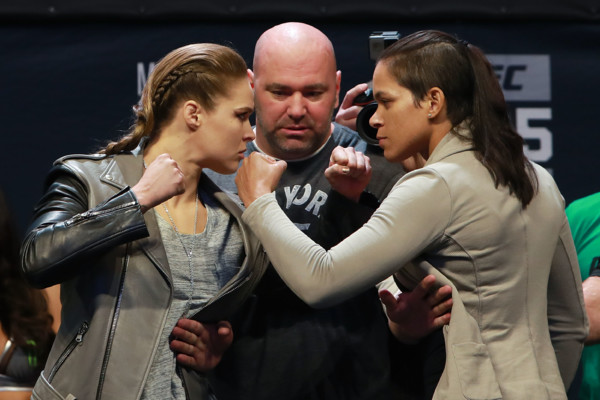 UFC 207 Ronda Rousey Vs. Amanda Nunes Card Official Weigh-In Results