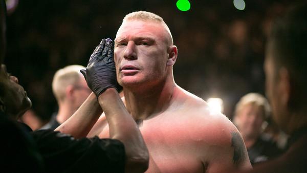 Brock Lesnar UFC 200 - Weigh-in