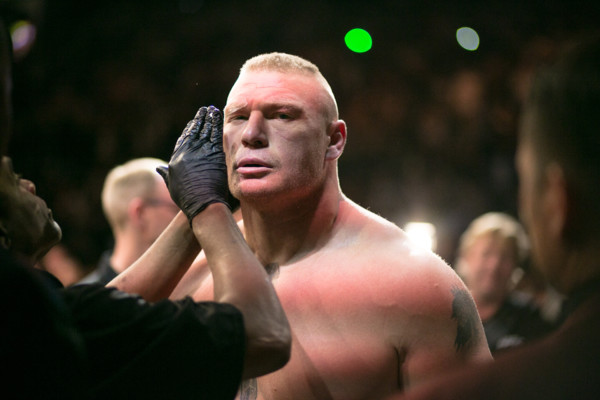 UFC Official Denies Brock Lesnar Has Re-Entered Testing Poll