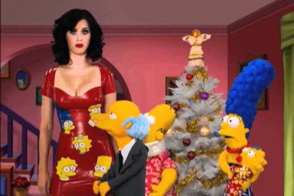 Katy Perry Simpsons