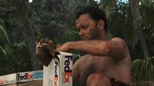 Fedex Castaway Tom Hanks