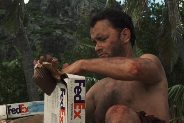 Fedex Castaway Tom Hanks