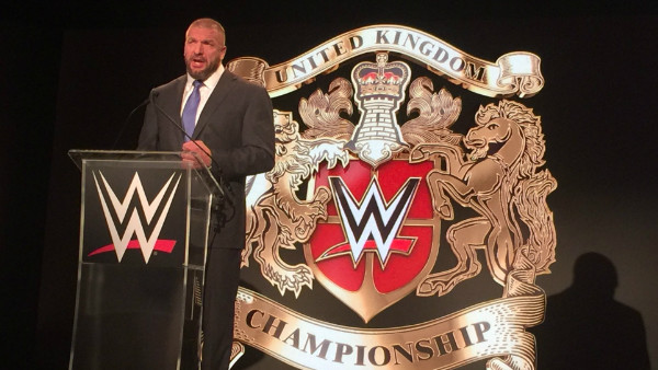 Triple H WWE United Kingdom Championship