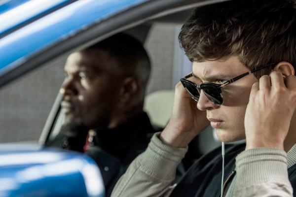 Baby Driver Ansel Elgort Jamie Foxx