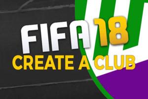 Create A Club Fifa 18