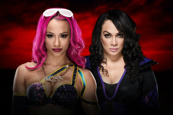 Image result for Sasha Banks vs. Nia Jax
