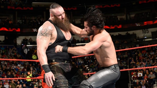 Seth Rollins Braun Strowman