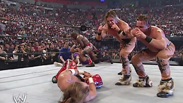 MNM Shawn Michaels Royal Rumble