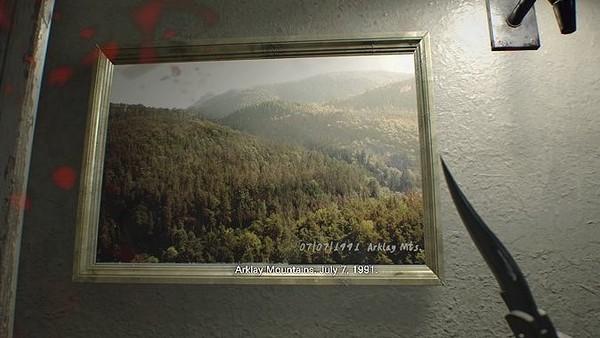 resident evil 7 Arklay mountains