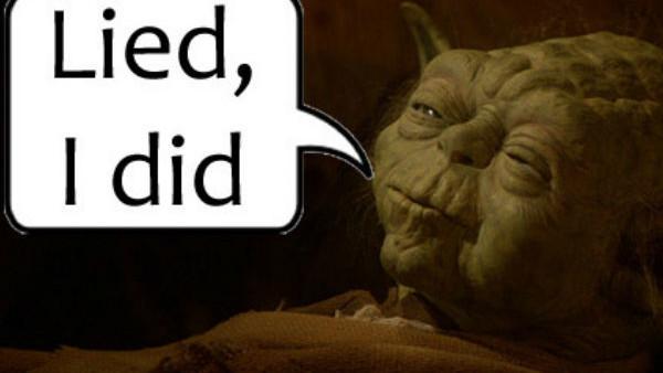 Yoda Lied