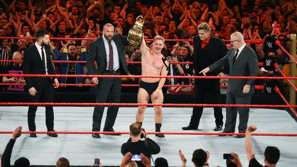 Tyler Bate WWE UK Champion