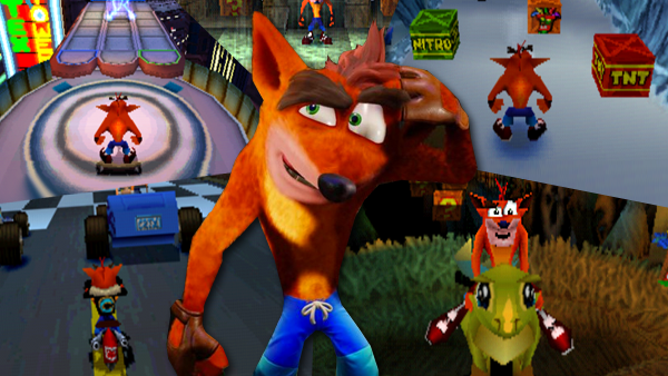 crash bandicoot levels