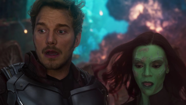 Guardians Of The Galaxy Vol 2 Gamora Star-Lord
