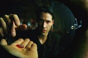 Matrix Neo Red Pill THE MATRIX