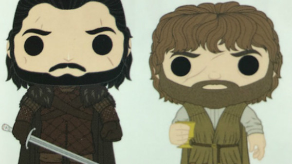 Game Of Thrones Jon Tyrion Funko Pops