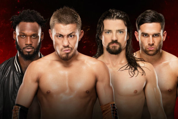 Cruiserweight Tag Match Added To WWE Fastlane 2017 Kickoff Show