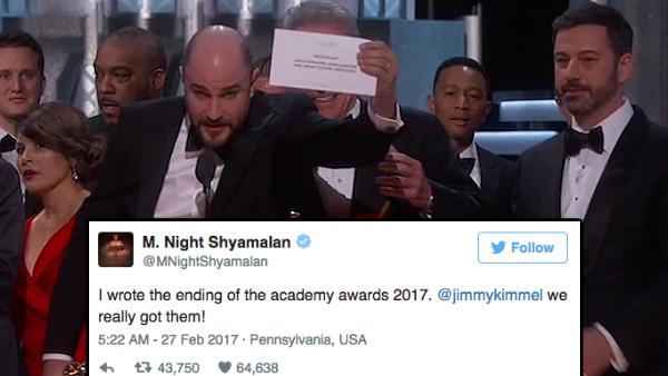 Oscars Reactions