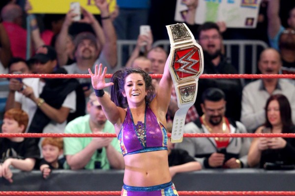 Image result for Bayley Wins RAW Women's Title