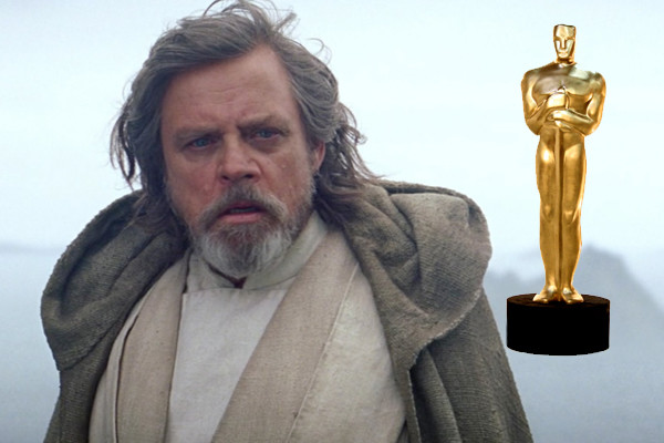 Mark Hamill Star Wars The Force Awakens Oscar