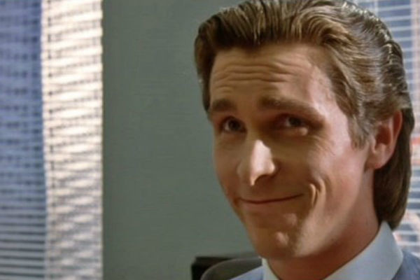 Christian Bale American Psycho