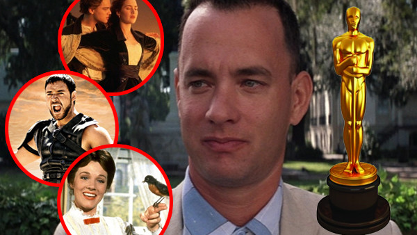 Forrest Gump Mary Poppins Gladiator Titanic