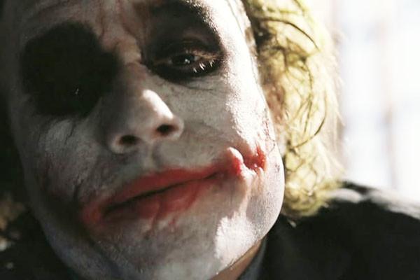 Joker Scars Dark Knight