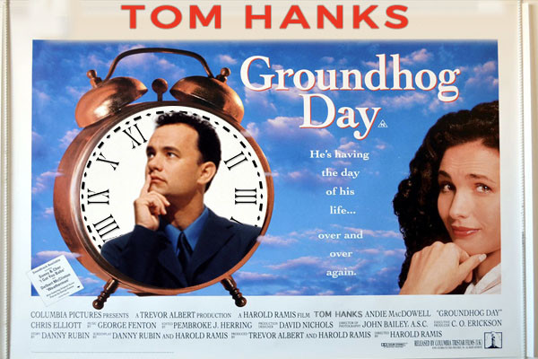 TOM HANKS GROUNDHOG DAY