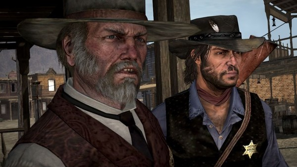 red dead redemption sheriff