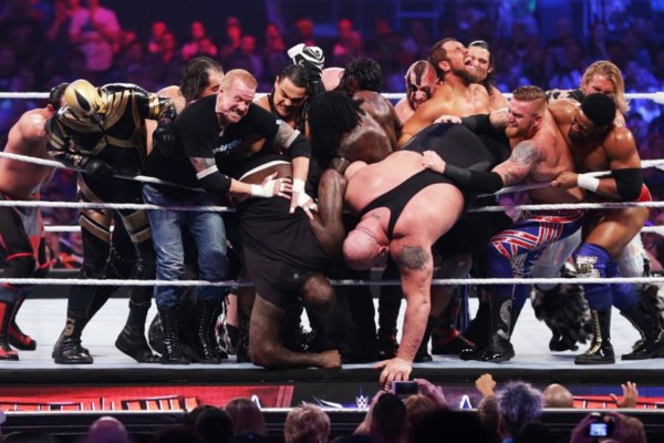 Andre The Giant Battle Royal WrestleMania 32