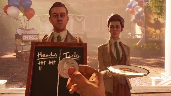 Lutece twins Bioshock infinite