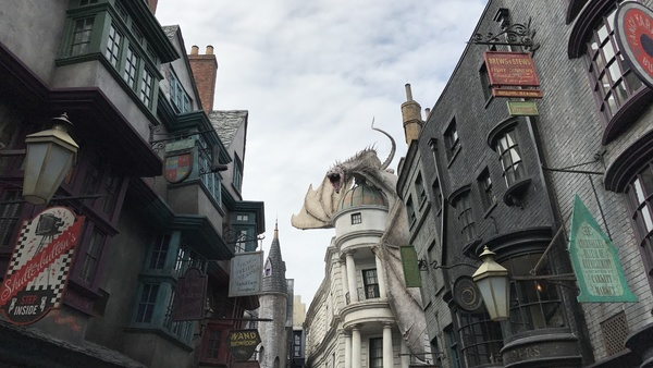 Universal Orlando Diagon Alley Harry POtter