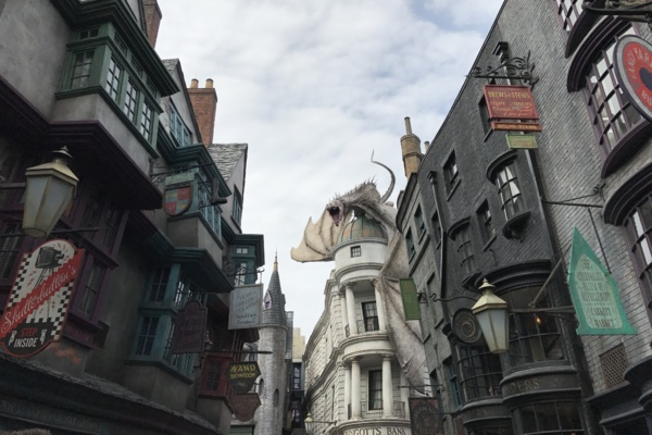 Universal Orlando Diagon Alley Harry POtter