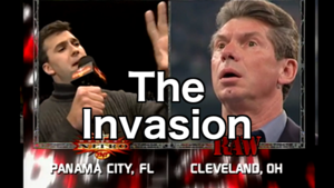 Vince McMahon Shane McMahon The Invasion